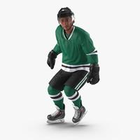 Hockey Player Generic Rigged