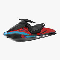 Jet Ski Sea-Doo Rigged