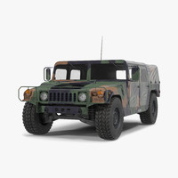 Troop Carrier HMMWV m1035 Camo