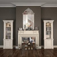 Fireplace Liveroom  Set