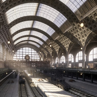 La Gare D'Orsay Of Paris