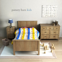 Pottery barn, Charlie Bed