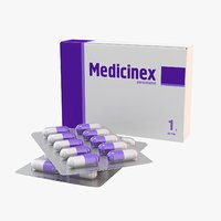 medication 3D models