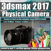 002 3ds max 2017 Physical Camera vol. 2 CD Front