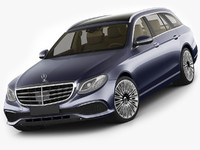 Mercedes E-class T-modell exclusive 2017