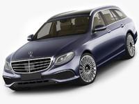 Mercedes E-class T-modell exclusive 2017