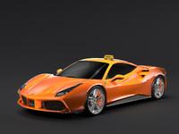 Ferrari GTB 488 Taxi 2016