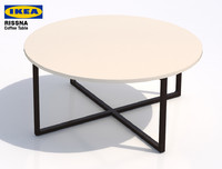 Ikea Rissna Coffee Table- Round