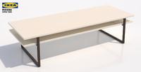 Ikea Rissna Coffee Table Rectangular