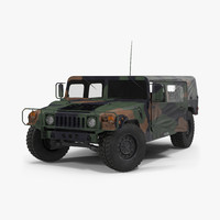 Troop Carrier HMMWV m1035 Rigged Camo