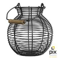 Wire Basket w/h Handle
