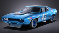 Plymouth Roadrunner NASCAR Richard Petty 1971