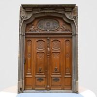 Door Wood Historic