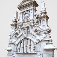 Design Architectural Door Head