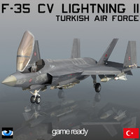 F-35 CV Lightning II Turkish Air Force