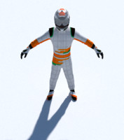 Force India Formula 1 driver