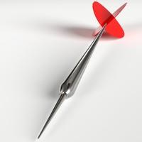 3d uv dart easily customizable