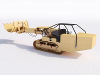 loader excavator mining