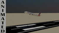 American Airlines Animated.