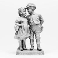Vintage Couple Statuette