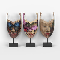 Masks set of 3