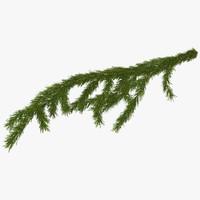 Sprig of Christmas Tree