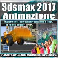 005 3ds max 2017 Animazione Vol 51 Cd Front