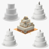 Wedding Cakes Collection 02
