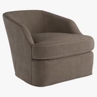 Aries Return Swivel Chair