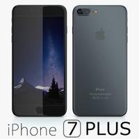 Apple iPhone 7 Plus Black Matte