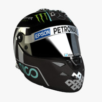 Nico Rosberg 2015 F1 SchuberthHelmet