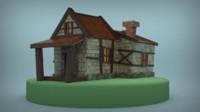 LowPoly Fantasy House