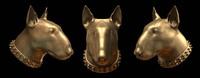 bull terrier head