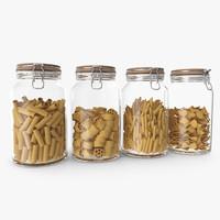 Vintage Pasta Jars