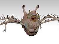 Head Mutant Zbrush Scilpture