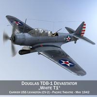 Douglas TDB-1 Devastator - T1