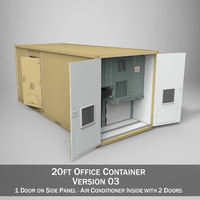 20ft Office Container Version 3