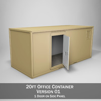 20ft Office Container Version1
