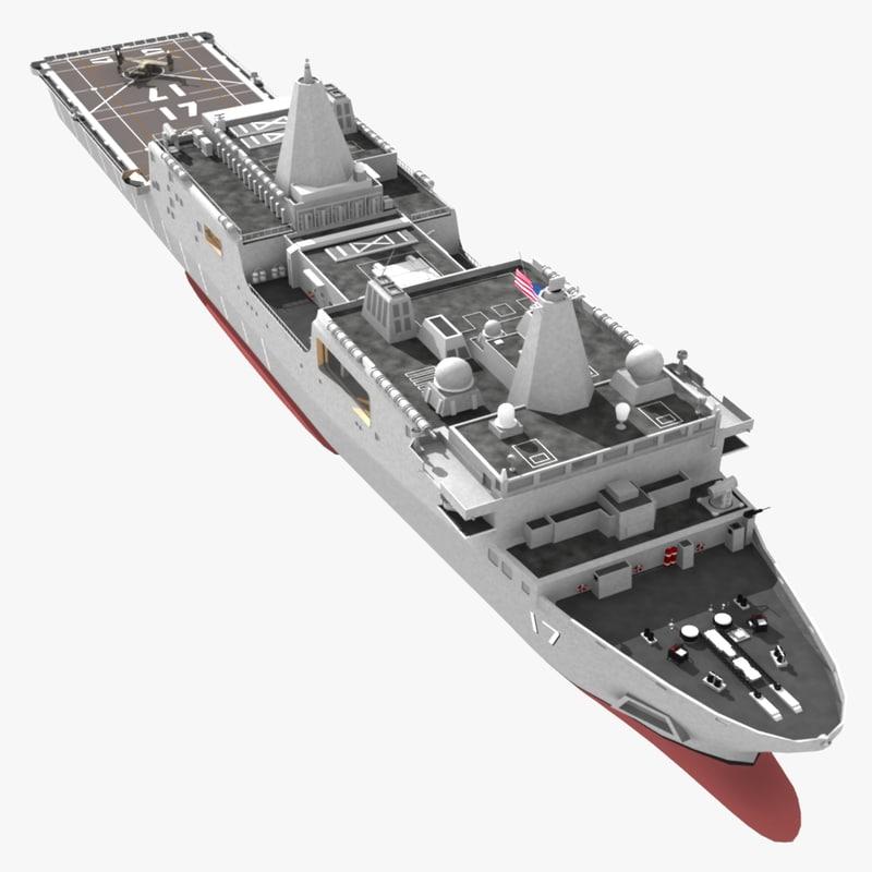 USS Newyork ship 3d model A0001.jpg