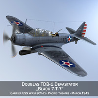 Douglas TDB-1 Devastator - 7T7