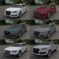 Audi car collection