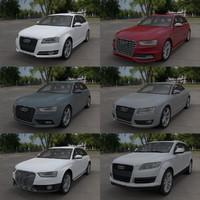 Audi car collection