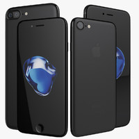 Apple iPhone 7 and 7 Plus Black Jet Matte 2016