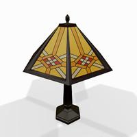 Classic tabletop lamp