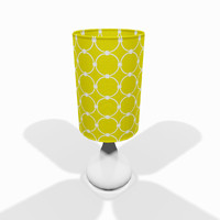 Modern tabletop lamp