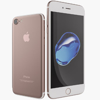 Apple iPhone 7 and 7 Plus Rosegold 2016