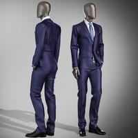 Mannequin suit