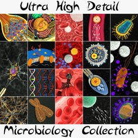 Ultra High Detail Microbiology Collection