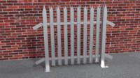collapsible fence