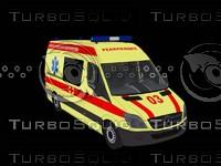 Mercedes Benz Sprinter 311 CDI Reanimation Russia